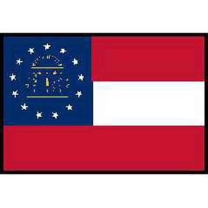 Custom Imprinted Georgia State Flags