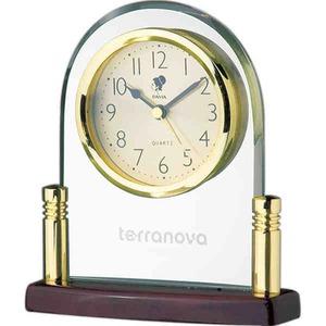 Glass Clocks Engravable -