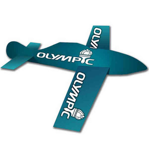 Personalized Glider Paper Airplanes