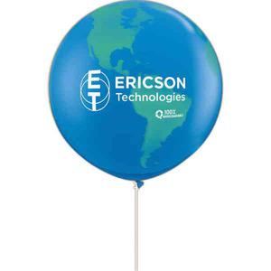 Custom Printed Globe Balloons!