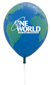 Custom Imprinted Globe Balloons