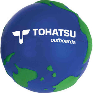 Globe and Earth Promotional Items - Globe Stress Balls