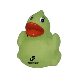 Custom Imprinted Glow in the Dark Rubber Ducks