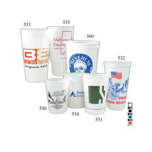 Las Vegas Themed Promotional Items - Glow in the Dark Casino Cups