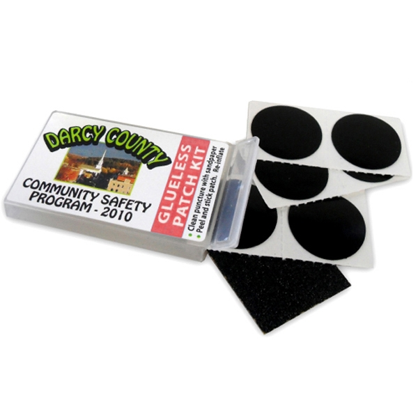 Custom Imprinted Bicycle Tire Tube Patch Kits