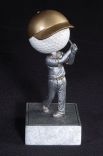 Custom Printed Golf Ball Head Bobble Heads
