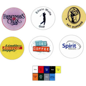 Custom Imprinted Golf Ball Markers!