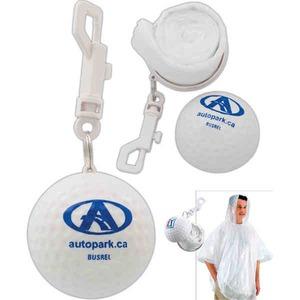 Custom Made Golf Ball Ponchos!