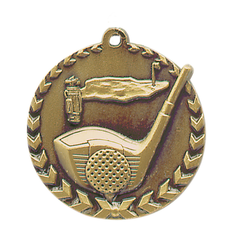Golf Medals -