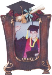 Custom Imprinted Graduation Resin Picture Frames!