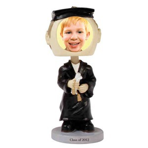 Custom Designed Graduation Themed Bobble Heads!