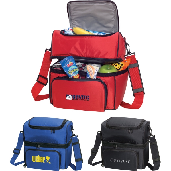 1 Day Service Insulated Bags - 1 Day Service Heavy Duty 6 Pack Insulated Bags