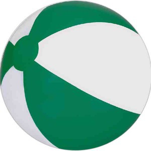 Alternating Color Beach Balls - Green and White Beach Balls