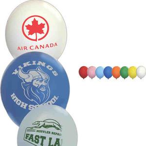 Custom Decorated Green Environmentally Friendly Balloons!