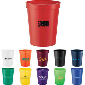 Custom Designed Green Environmentally Friendly Cups!