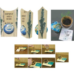 Personalized Green Environmentally Friendly Growing Kits!