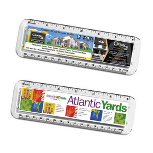 Custom Made Green Environmentally Friendly Rulers!