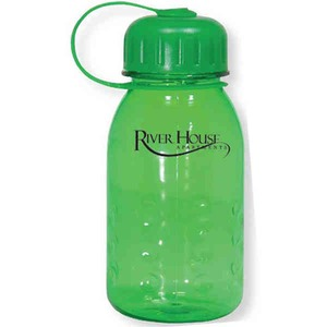 Custom Printed Green Color Sport Bottles