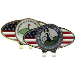 Golf Accessories - Hat Clips With Ball Markers