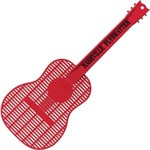 Custom Printed Guitar Shaped Fly Swatters!