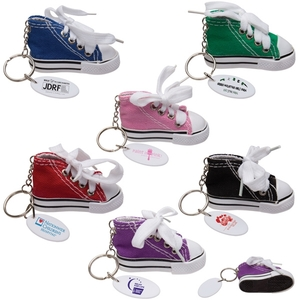 Custom Imprinted Gym Shoe Keytags