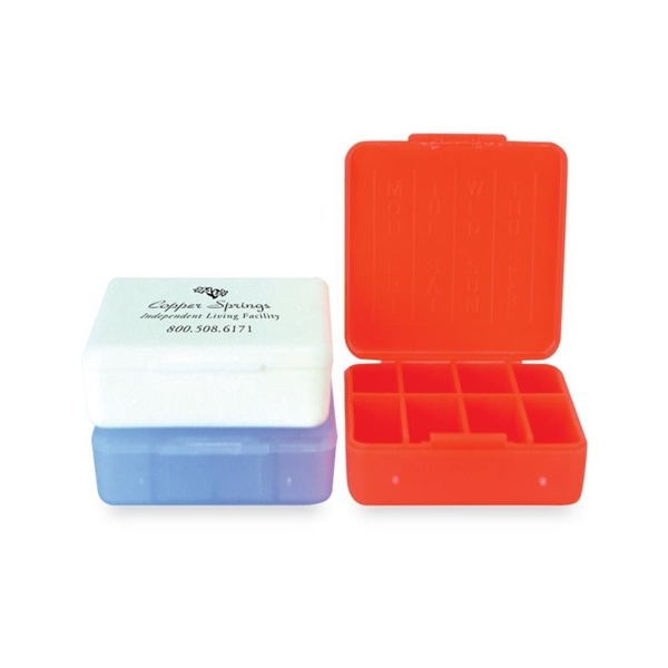 Pill Boxes -