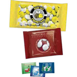 Full Color Imprint M&M Chocolate Candy Packages -