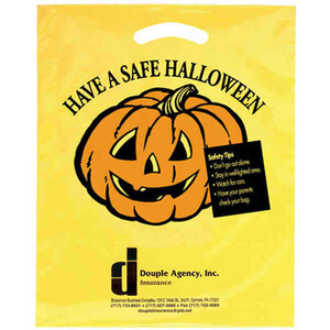 Custom Printed Halloween Drawstring Bags