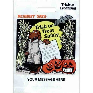 Halloween Themed Promotional Items - Halloween Holiday Plastic Bags