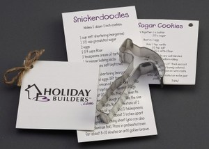 Personalized Hammer Stock Shaped Cookie Cutters!