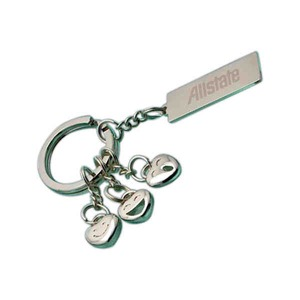 Classic Silver Key Holders -