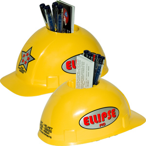 Construction Hats - Hard Hat Desk Caddys