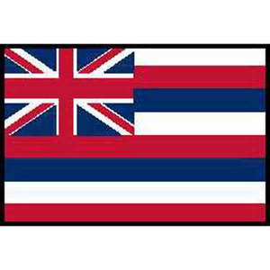 Custom Imprinted Hawaii State Flags!