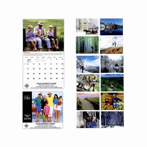 Customized Health Tips Wall Calendars