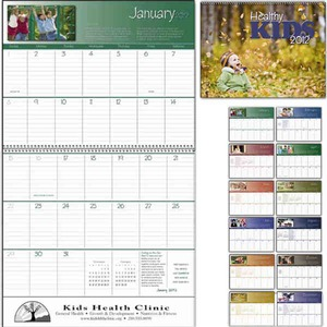 Custom Imprinted Healthy Kids Appointment Calendars