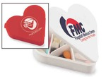 Custom Printed Heart Shaped Pill Boxes!