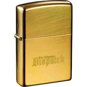 Personalized High Polish Brass Zippo Lighters