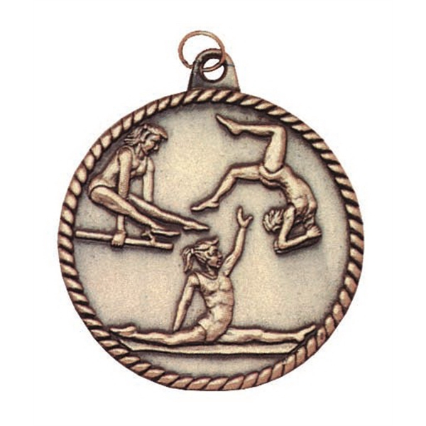 Customized Bowling High Relief Medals!