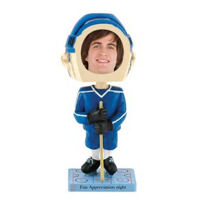 Bobble Head Picture Frames - Hockey Player Bobble Head Picture Frames
