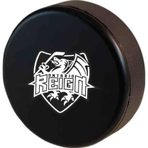Custom Imprinted Hockey Puck Stress Relievers