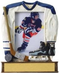 Custom Decorated Hockey Resin Picture Frames!