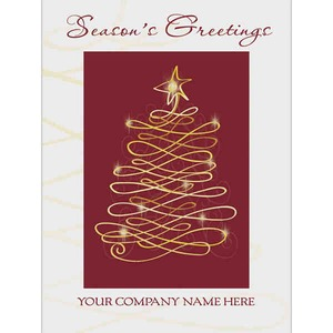 Custom Imprinted Holiday Cards!