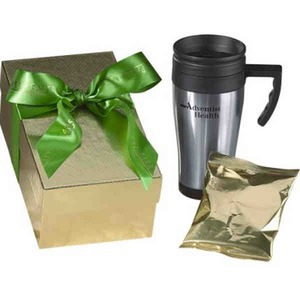 Custom Printed Hot Chocolate Travel Mug Gift Boxes!