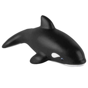 Custom Imprinted Humpback Whale Stressball Squeezies