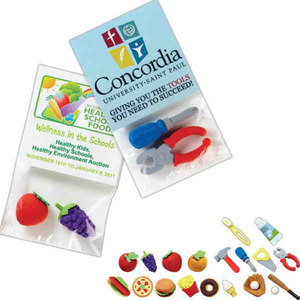 3D Erasers - Ice Cream Cone Shaped 3D Erasers