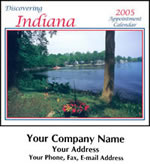 Custom Imprinted Indiana Wall Calendars!