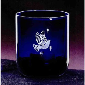Custom Printed Indigo Votive Crystal Gifts!