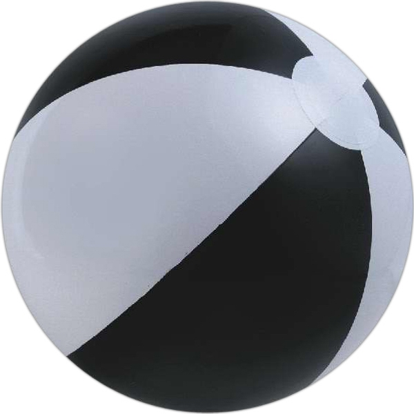 Alternating Color Beach Balls - Black and White Alternating Color Beach Balls