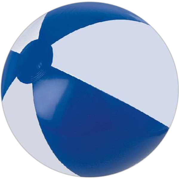 Alternating Color Beach Balls - Blue and White Alternating Color Beach Balls