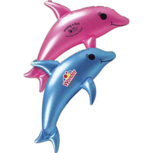 Fish Themed Promotional Items - Inflatable Dolphin Animal Toys